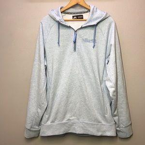 Nike SB Dry Everett Hoodie Sweatshirt Chambray L